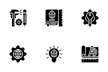 Engineering Or Engineer Icon Pack