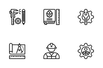 Engineering Or Engineer Icon Pack