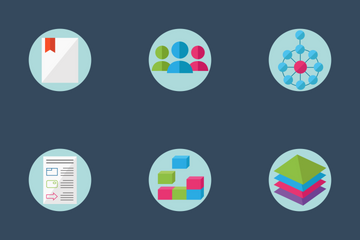 Enterprise Architecture - Flat And Round Icon Pack