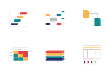 Enterprise Architecture - TOGAF Architecture Vision Icon Pack