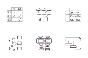 Enterprise Architecture - TOGAF (Information System Architecture) Icon Pack
