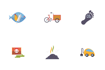 Environmental Issues Icon Pack