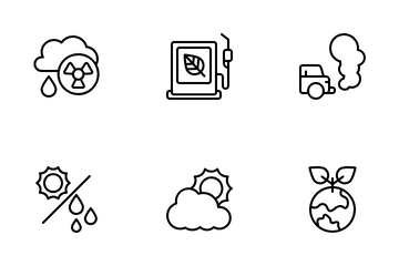 Environment Ecology Icon Pack