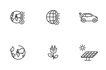 Environment, Ecology, Energy Icon Pack