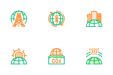Environmental Problems Icon Pack