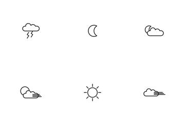 Equator's Season - Outline Icon Pack