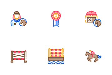 Equestrian Sport Icon Pack