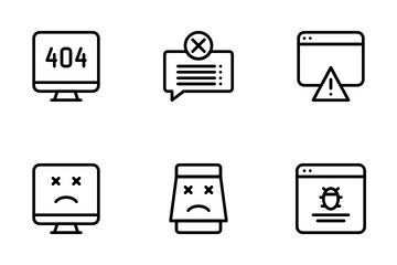 Error Message Icon Pack