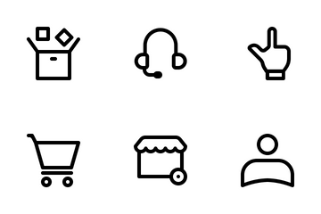 Essential Online Store Icon Pack
