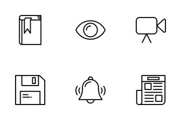 Essential Set 4 Icon Pack