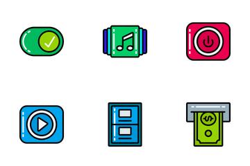 Essentials - Bright Fill Icon Pack