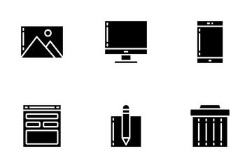 Essentials - Glyph Icon Pack