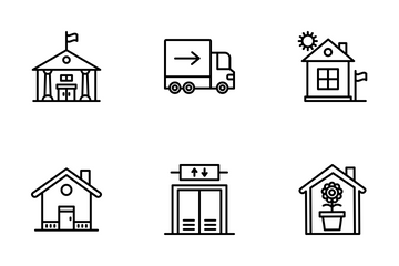 Estate Property Icon Pack