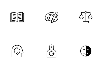 Ethnography Research Tools Icon Pack