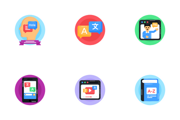 European Day Of Languages Icon Pack