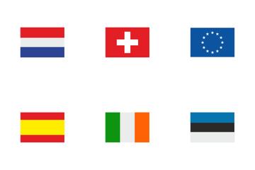 European Flag Icon Pack