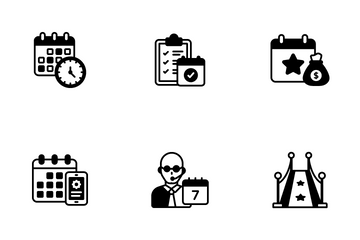 Event Management Icon Pack