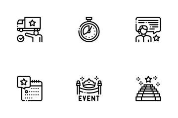 Event Party Planning Icon Pack