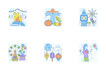 Events And Festivals Icon Pack