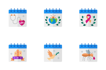 Events Calendar Icon Pack