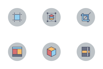 Exclusive Free Designer Flat Line Icon Set Icon Pack