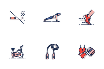 Exercise And Gym Icon Pack
