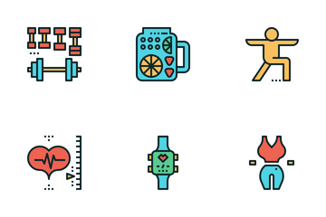 Exercise&Fitness Icon Pack