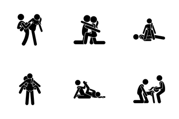 Extreme Sex Position Icon Pack