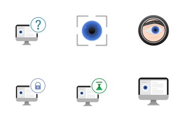 Eye Biometry  Icon Pack