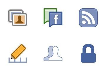 Facebook UI  Icon Pack