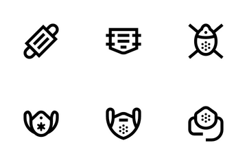 Facemask Icon Pack