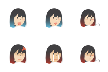 Facial Expression Icon Pack