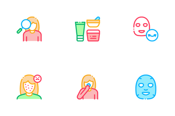Facial Mask Healthcare Icon Pack