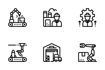 Factory Element  Icon Pack