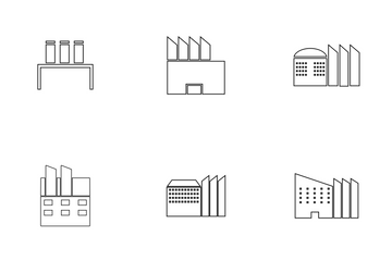FACTORY Line Icon Pack