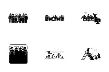 Family Activity Icon Pack