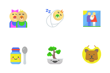 Family And Home Icon Pack