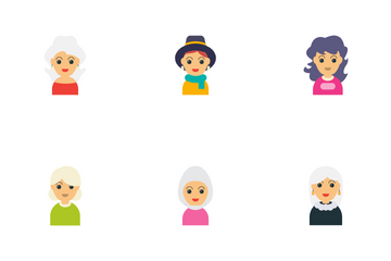Family Characters Icon Pack