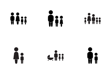 Family GLYPH Icon Pack