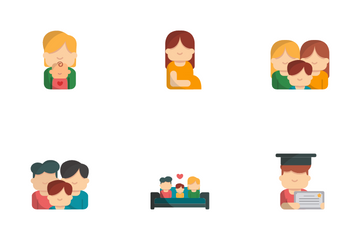 Family Life Icon Pack