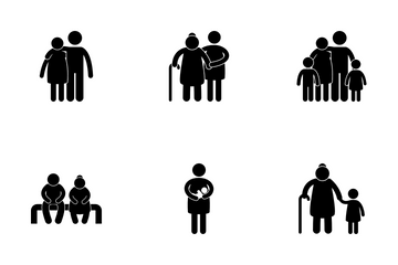 Family Love Icon Pack