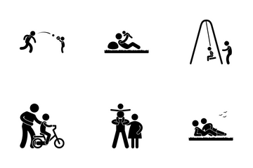 Family Outing Icon Pack