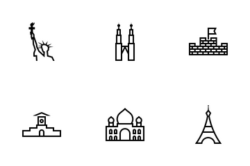 Famous Architecture Icon Pack