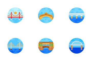 Famous Bridges Icon Pack