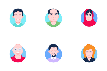 Famous People Icon Pack