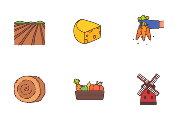 Farming And Agriculture Icon Pack