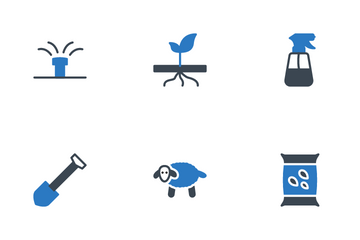 Farming And Gardening Icon Pack