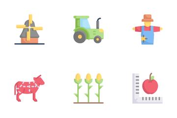 Farming Flat Icon Pack