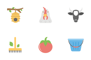 Farming Flat Icons  Icon Pack