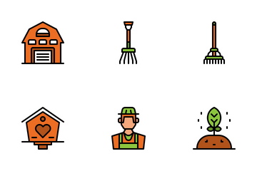 Farming Items Icon Pack